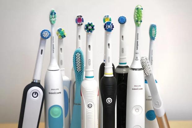 Les différents types de brosse à dent électrique